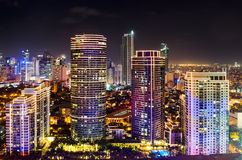 Night Skyline Stock Images