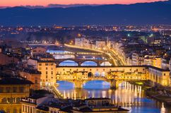 Skyline of Florence, Italy Royalty Free Stock Photo