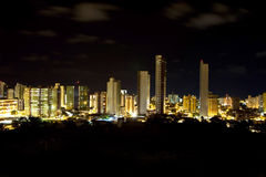 Night Skyline of Joao Pessoa Stock Photos