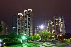 Night skyline of Kuala Lumpur Royalty Free Stock Image