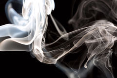 Night smoke Royalty Free Stock Photo