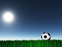 Night Soccer Stock Image