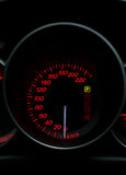 NIGHT SPEEDOMETER Stock Photos