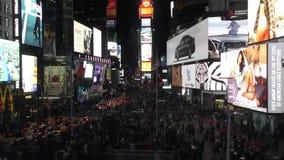 night square times απόθεμα βίντεο
