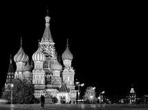 Night St. Basil Cathedral Royalty Free Stock Photography