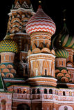 Night St. Basil Cathedral Royalty Free Stock Photo