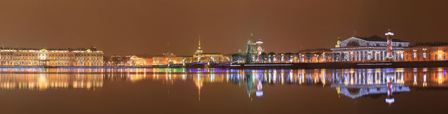 Night St. Petersburg Stock Photography