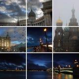 Night St. Petersburg, Russia Stock Photography