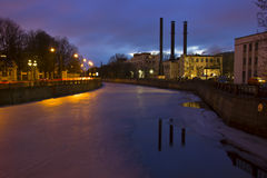 Night St. Petersburg ,Russia Royalty Free Stock Photo