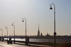Night St. Petersburg Stock Photography
