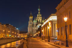 Night St. Petersburg. Stock Photography