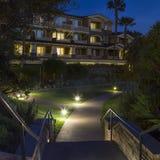 Night stairs, Laguna Beach Stock Photography