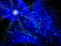 Night star. Space. Night star Royalty Free Stock Images
