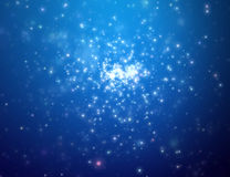 The night star sky. Space open royalty free stock photo
