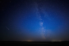 Night starry sky  background. Stock Photography