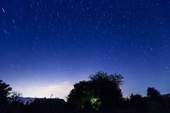 Night starry sky Royalty Free Stock Photography