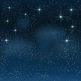 Night starry sky Stock Photography