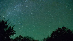 Night Stars stock footage