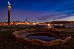 night stockholm Στοκ εικόνα με δικαίωμα ελεύθερης χρήσης