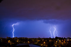 Night storm Royalty Free Stock Photos