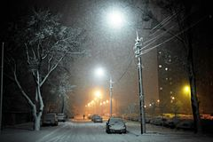 Free Night Street Royalty Free Stock Images - 12620059