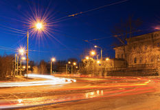 Night street Royalty Free Stock Images