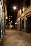 Night Street in London Royalty Free Stock Images