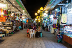 Night Street Market Royalty Free Stock Image