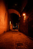 Night streets in jerusalem Royalty Free Stock Photography