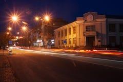 Night streets Stock Photo