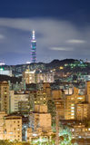 Night of Taipei Stock Image