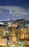 Night of Taipei Stock Image