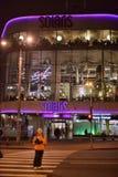 Night Tallinn, modern areas Royalty Free Stock Photo