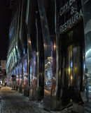 Night Tallinn, modern areas Royalty Free Stock Photos