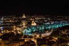 Night Tbilisi Royalty Free Stock Photos