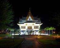 Night temple Stock Photo
