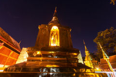 Night temple Royalty Free Stock Photography