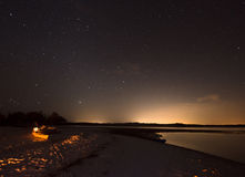 Night in the Ten Thousand Islands Stock Photos
