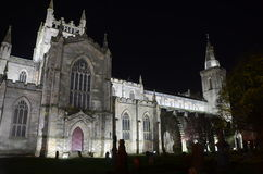 Night Time at Abbey Church Stock Photo
