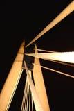 Night time bridge. Stock Image