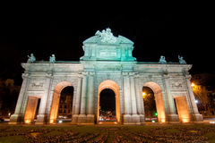 Alcala gate Royalty Free Stock Images