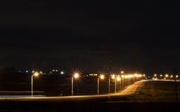 Night-time illumination Royalty Free Stock Photo