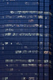 Night time Office building. With Light from Many floor Stock Photos