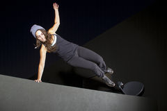 Night Time Parkour Royalty Free Stock Image