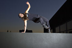 Night Time Parkour Royalty Free Stock Photos