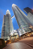 Night time at petronas Royalty Free Stock Photos