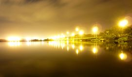 Night-Time Reflections Stock Photos