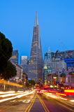 Night time in San Francisco Royalty Free Stock Photo