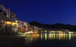 Night time in Sicily Stock Photo