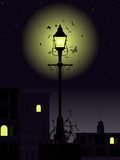 Night time streetlamp Royalty Free Stock Photo